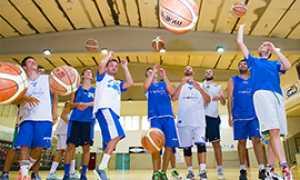 b basket vinavil allenamento bella