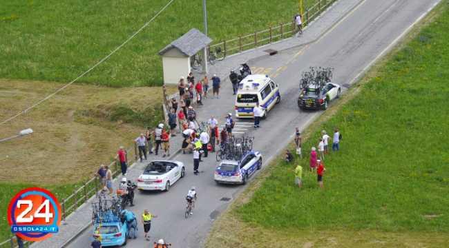 incidente tour suisse