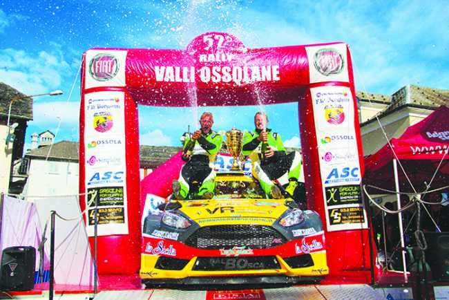 podio 52 rally valli ossolane